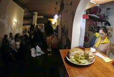 Κουζίνα φραγμών Στοκ Φωτογραφία