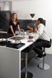 κουζίνα χημείας Στοκ Φωτογραφίες
