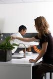 κουζίνα χημείας Στοκ εικόνες με δικαίωμα ελεύθερης χρήσης