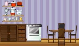 κουζίνα ελεύθερη απεικόνιση δικαιώματος