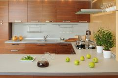 κουζίνα Στοκ εικόνα με δικαίωμα ελεύθερης χρήσης