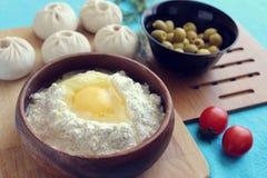 Κουζίνα Buryat στοκ εικόνες