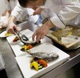 Κουζίνα Haute Στοκ εικόνα με δικαίωμα ελεύθερης χρήσης