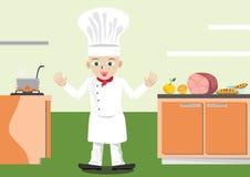 κουζίνα s αρχιμαγείρων Στοκ εικόνα με δικαίωμα ελεύθερης χρήσης