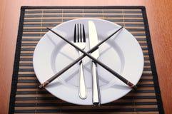 κουζίνες σύγκρουσης Στοκ φωτογραφία με δικαίωμα ελεύθερης χρήσης