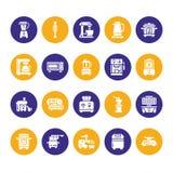 Κουζινών μικρά διανυσματικά εικονίδια glyph συσκευών επίπεδα Σημάδια οικιακών μαγειρεύοντας εργαλείων Σκιαγραφία εξοπλισμού προετ ελεύθερη απεικόνιση δικαιώματος