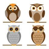 κουκουβάγιες κινούμε&n ελεύθερη απεικόνιση δικαιώματος