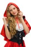 κουκούλα λίγη κόκκινη μ&omicron Στοκ Εικόνα