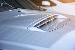 Κουκούλα αυτοκινήτων Στοκ εικόνα με δικαίωμα ελεύθερης χρήσης