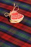 κουλουράκι μπισκότων Χρ&io Στοκ Φωτογραφίες