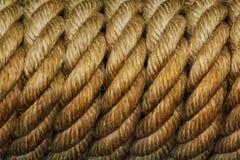 Κουλουριασμένο σχοινί Ευδιάκριτες επαναλήψεις στοκ φωτογραφία με δικαίωμα ελεύθερης χρήσης