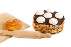 Κουλούρι και κέικ χώρας Στοκ φωτογραφία με δικαίωμα ελεύθερης χρήσης