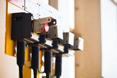 Κουμπί έκτακτης ανάγκης Στοκ Φωτογραφίες