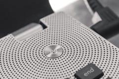Κουμπί έναρξης, στρογγυλή ώθηση δύναμης Στοκ Εικόνα