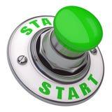 Κουμπί έναρξης ελεύθερη απεικόνιση δικαιώματος