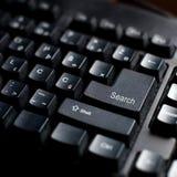 Κουμπί αναζήτησης Στοκ Φωτογραφία