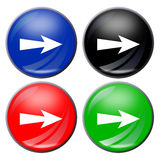 κουμπί βελών Στοκ Φωτογραφία