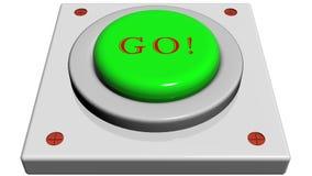 Κουμπί για να πάει Στοκ φωτογραφία με δικαίωμα ελεύθερης χρήσης