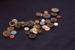 Κουμπί για το ράψιμο υπό μορφή καρδιάς Στοκ Εικόνα