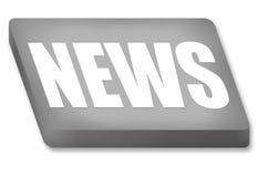 Κουμπί ειδήσεων διανυσματική απεικόνιση