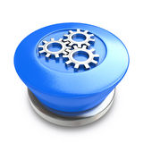 Κουμπί εργαλείων Στοκ Εικόνα
