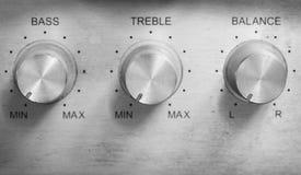 Κουμπί ελέγχου Στοκ Φωτογραφία