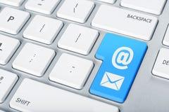 Κουμπί ηλεκτρονικού ταχυδρομείου πληκτρολογίων Στοκ Εικόνες