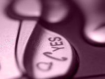 κουμπί κινητό Στοκ Φωτογραφία