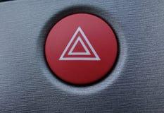 Κουμπί κινδύνου Στοκ Φωτογραφία