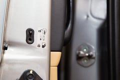 Κουμπί κλειδαριών για να αποτρέψει τα παιδιά Στοκ Εικόνα