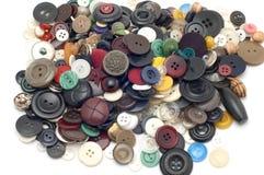 κουμπί που χρωματίζεται Στοκ Φωτογραφία