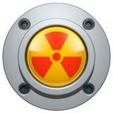 κουμπί πυρηνικό Στοκ Εικόνες