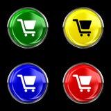 Κουμπί πώλησης Στοκ φωτογραφίες με δικαίωμα ελεύθερης χρήσης