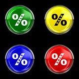 Κουμπί πώλησης Στοκ Φωτογραφίες