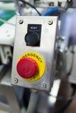Κουμπί στάσεων έκτακτης ανάγκης Στοκ εικόνες με δικαίωμα ελεύθερης χρήσης