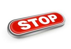 Κουμπί στάσεων Στοκ φωτογραφία με δικαίωμα ελεύθερης χρήσης