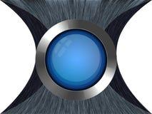 κουμπί στιλπνό Στοκ Εικόνες