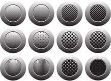 Κουμπί στο άσπρο υπόβαθρο, που απομονώνεται για τον ιστοχώρο, διαφήμιση, κοινωνικό μάρκετινγκ Στοκ φωτογραφία με δικαίωμα ελεύθερης χρήσης