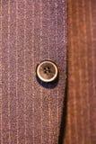 Κουμπί στο κοστούμι Στοκ Εικόνα
