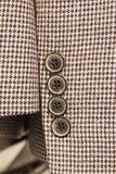 Κουμπί στο κοστούμι Στοκ Εικόνες