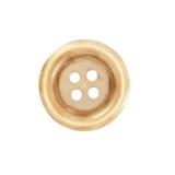 Κουμπί, σύσταση κακάου με τέσσερις τρύπες Στοκ εικόνες με δικαίωμα ελεύθερης χρήσης