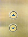 Κουμπί του ανελκυστήρα Στοκ Εικόνες