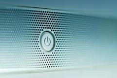Κουμπί δύναμης Στοκ φωτογραφίες με δικαίωμα ελεύθερης χρήσης