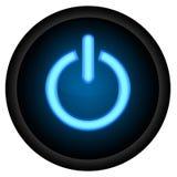 Κουμπί δύναμης Στοκ φωτογραφία με δικαίωμα ελεύθερης χρήσης