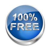 κουμπί 100 ελεύθερο Στοκ Εικόνες
