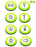 κουμπί Στοκ Φωτογραφίες