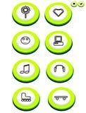 κουμπί Στοκ Εικόνες