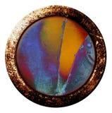 κουμπί grunge Στοκ Εικόνες