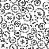 Κουμπιά άνευ ραφής διάνυσμα προτύπων Στοκ εικόνες με δικαίωμα ελεύθερης χρήσης