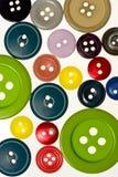κουμπιά ανασκόπησης Στοκ Φωτογραφίες